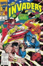 Invaders Comics (1993 Series)